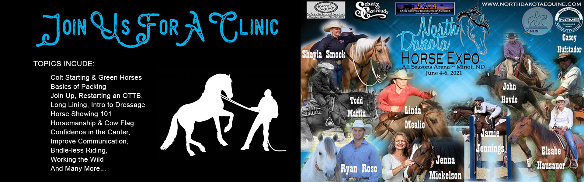 Join Us for a Clinic